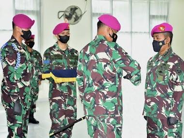 Kolonel Marinir Rivelson Saragih Resmi Jabat Asisten Intelijen Danpasmar 3