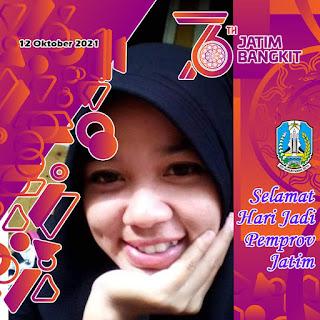 Twibbon Hari Jadi Provinsi Jawa Timur (JATIM), 12 Oktober 2021