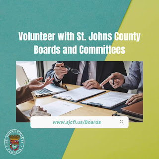 St. Johns County Board of County Commissioners volunteers