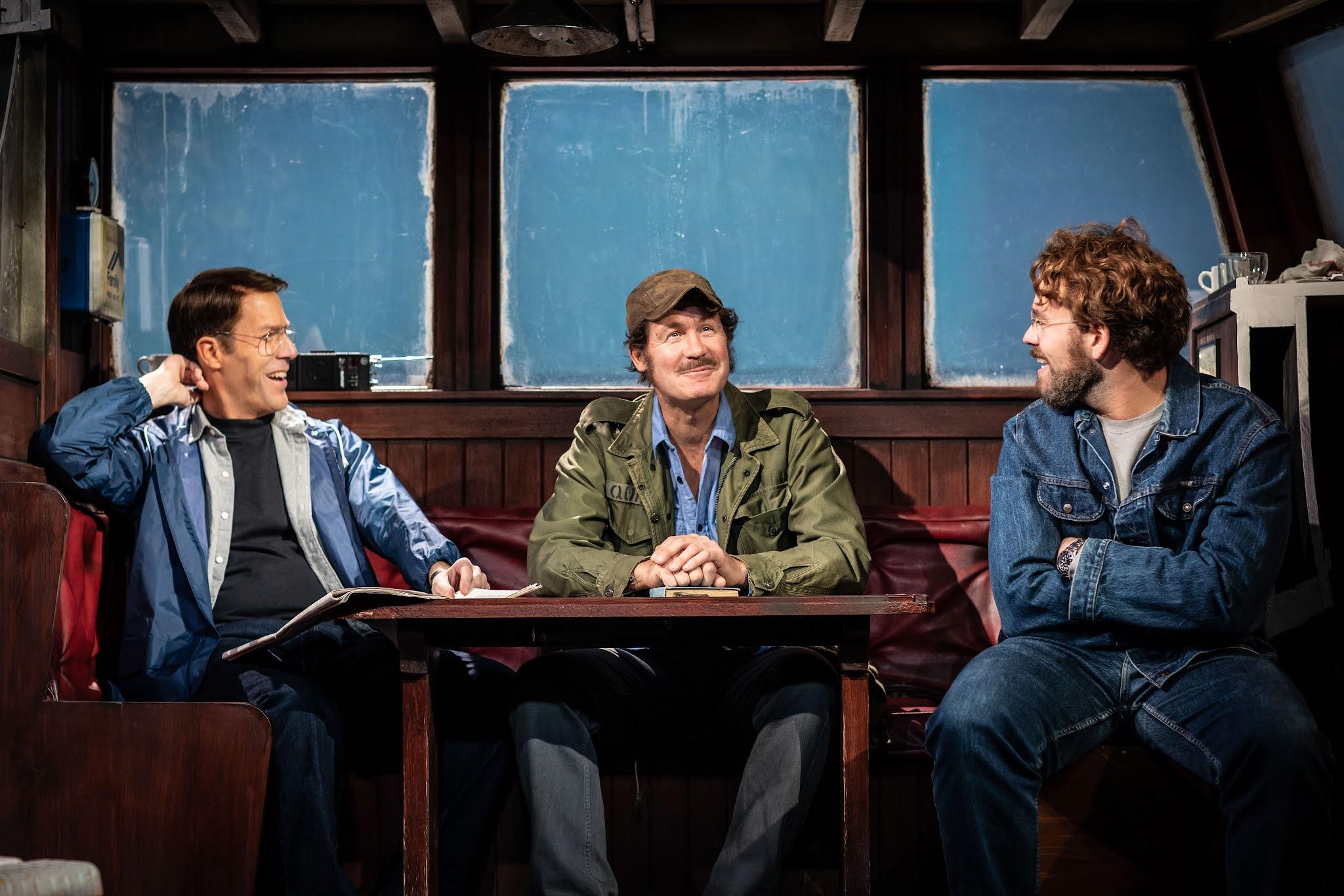 Review: The Shark is Broken, Ambassadors Theatre, London ★★★★☆