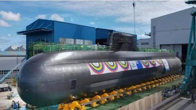 Hyundai Korsel Luncurkan Kapal Selam Dengan Rudal Balistik Berbobot 3.000 Ton