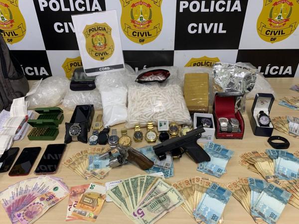 A PCDF deflagra Operação Sênior e prende traficante com cocaína rosa! Confira onde