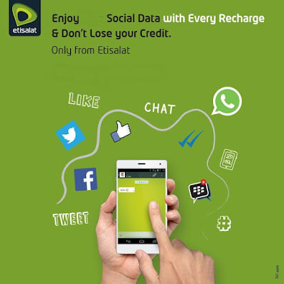 Etisalat Social Data Plans Daily, Weekly & Monthly Packages