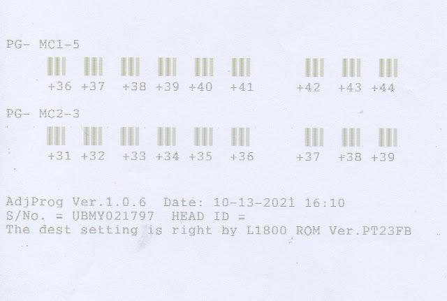 Mengatasi Cetakan Berbayang Printer Epson Menggunakan Resetter