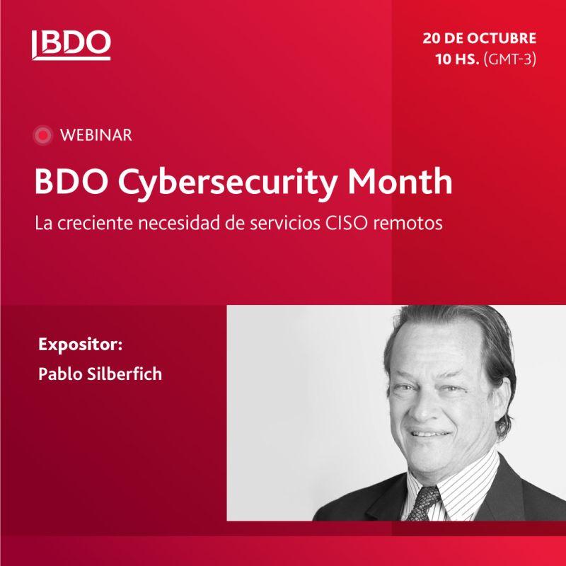 BDO Cybersecurity: La creciente necesidad de servicios CISO remotos