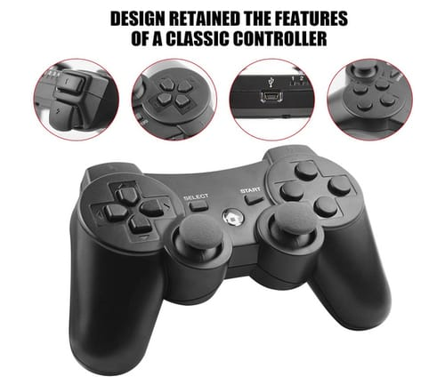 TOPSALE Wireless Controller Compatible with PS-3