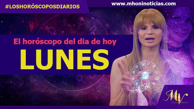 Los horóscopos de LUNES 18 de OCTUBRE del 2021 - Mhoni Vidente