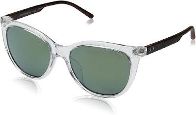 Transparant Authentic Armani Cat Eye Sunglasses