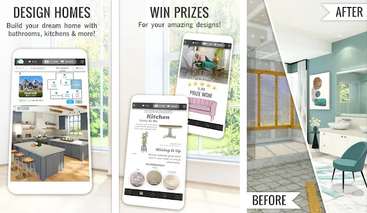 Design Home Mod Apk Download Getmodapk [No Ads+ Free Unlimited Shopping Androids+ Free Gold Coins]