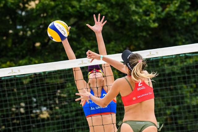 Duplas brasileiras do vôlei de praia