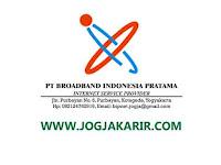 Loker Jogja NOC Staff di PT Broadband Indonesia Pratama