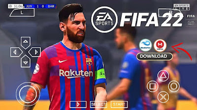 FIFA 22 PPSSPP ISO For Android Free Download