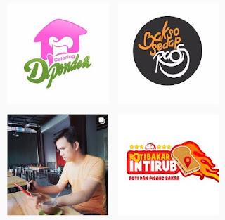 Ide template logo makanan vintage free - kanalmu