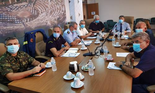 Συνεδρίαση Συντονιστικού Οργάνου Πολιτικής Προστασίας (Σ.Ο.Π.Π.) της Π. Ε. Μεσσηνίας