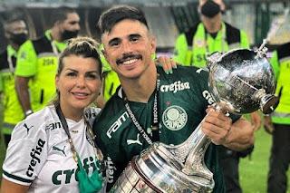 Atacante do Palmeiras e esposa perdem filho durante a gravidez