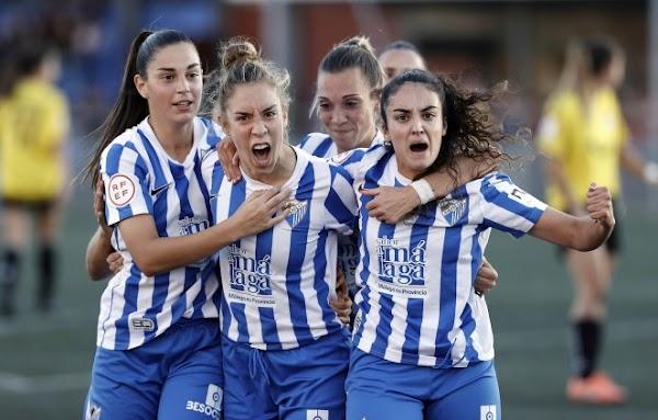 El Málaga Femenino gana al CE Seagull y pasa de ronda (2-0)