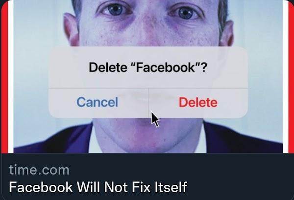 Facebook Will Not Fix Itself