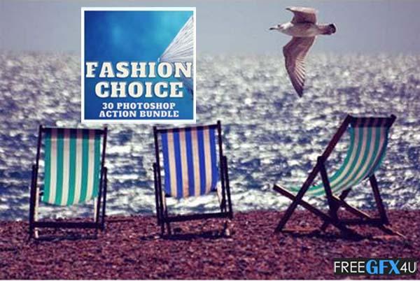 Fashion Choice 30 Photoshop Action