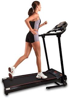 SereneLife SLFTRD 18 - Folding Treadmill