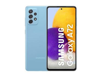 Screenshot Samsung Galaxy A72