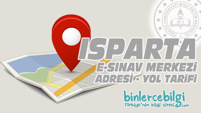 Isparta e-sınav merkezi adresi, Isparta ehliyet sınav merkezi nerede? Isparta e sınav merkezine nasıl gidilir?