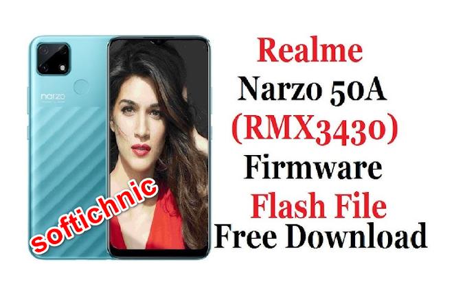Realme narzo 50A RMX3430 latest flash file