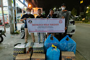 Komunitas BERNAS Kota Medan Lakukan Aksi Bagi Nasi Bungkus
