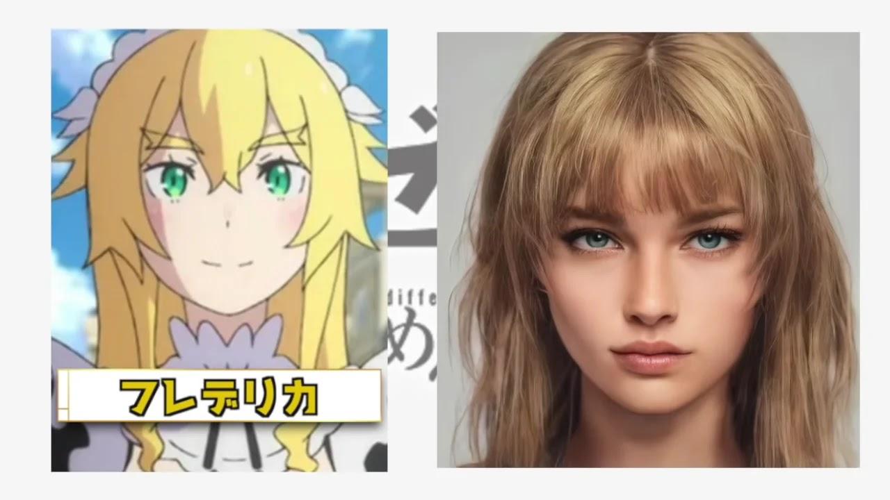 Veja como Seria os Personagens de Re:Zero na Realidade