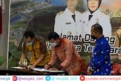 Lanal Mataram Tanda Tangani Penerimaan Bantuan Speed Boat Dari Pemrov NTB