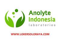 Loker Apoteker Solo di PT Anolyte Indonesia Laboratories
