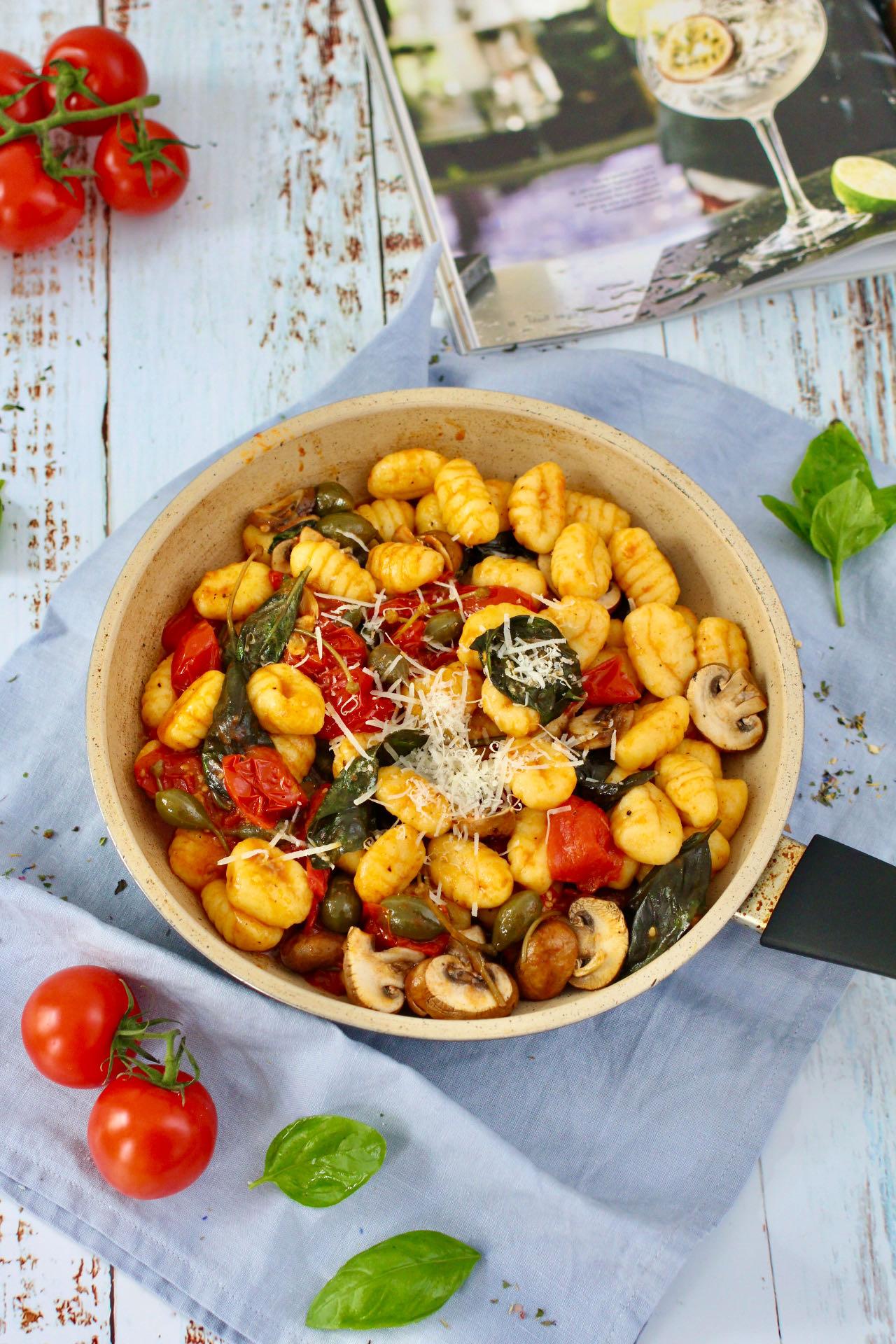 Gnocchipfanne mit Gemüse