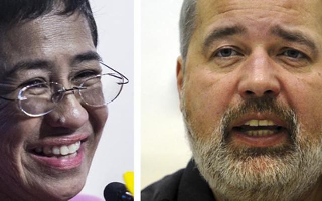 """Premio Nobel de la Paz 2021: RSF celebra el """"extraordinario homenaje"""" al periodismo"""