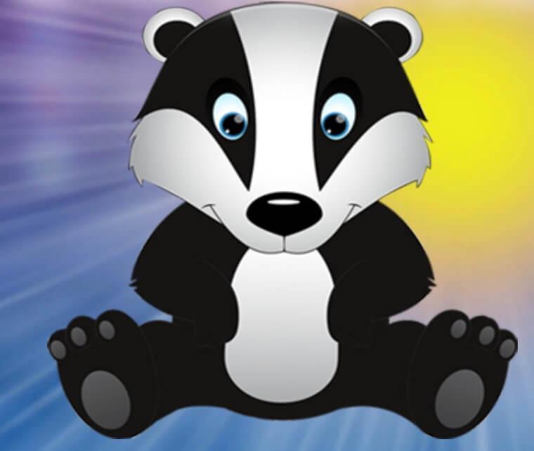 Games4King Little Black Badger Escape