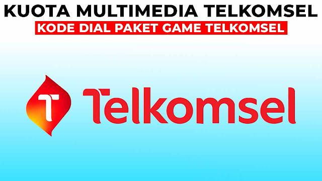 kode dial paket game telkomsel
