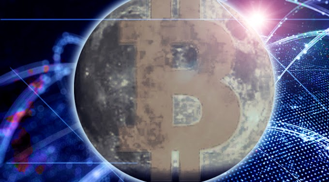 Bitcoin Hit The Moon As It Broke $60k Today - Will We Keep Flying Towards Mars? Or Burn Up On Re-Entry?