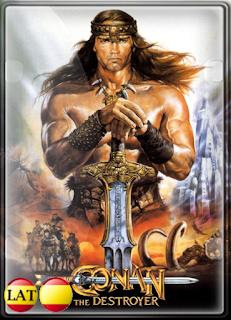 Conan: El Destructor (1984) DVDRIP LATINO/ESPAÑOL