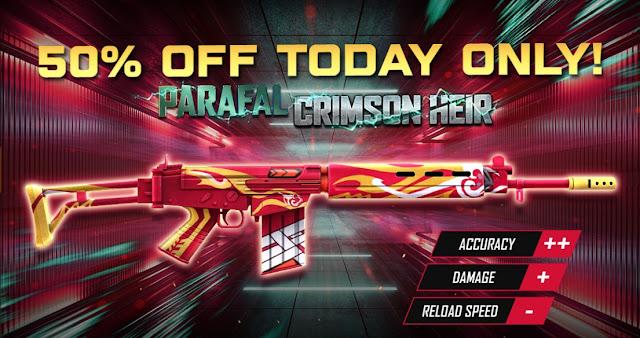 Parafal Crimson heir Free Fire