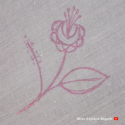 Hand embroidery new cute design craft