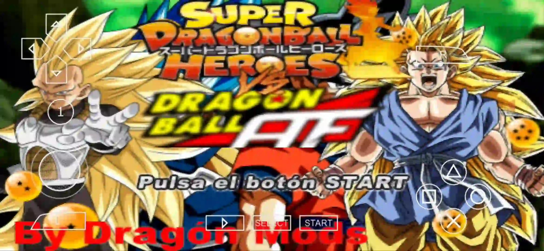 Super Dragon Ball Heroes Vs AF DBZ TTT MOD