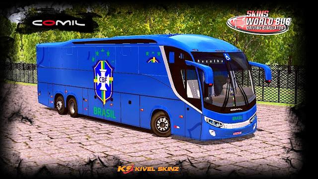 COMIL 1200 6X2 - SELEÇÃO BRASILEIRA AZUL
