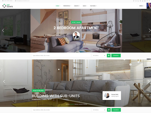 WpEstate   7+ Best WordPress Themes For Real Estate Company