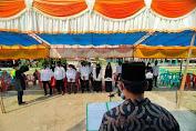 Jelang Pilkades, Anggota KPPS Sialang Panjng Resmi Dilantik