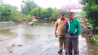 Banjir Bandang Landa Kinali Pasbar, Aset Ratusan Juta Rupiah Porak-poranda Dihondoh Air Bah