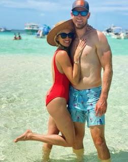 Ryan Tannehill with his wife Lauren Tannehill