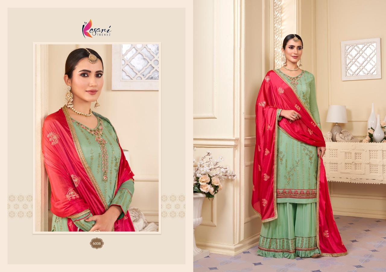 Kesari Trendz Karwa Vol 2 Sharara Style Suits Catalog Lowest Price