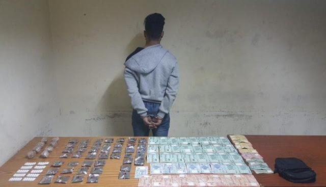 المهدية : القبض على مروج مخدرات بحوزته مبلغ مالي ضخم