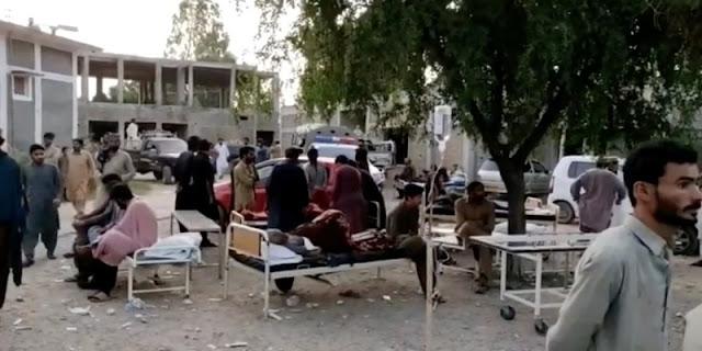 Gempa Guncang Pakistan Selatan 20 Tewas dan Ratusan Luka-luka
