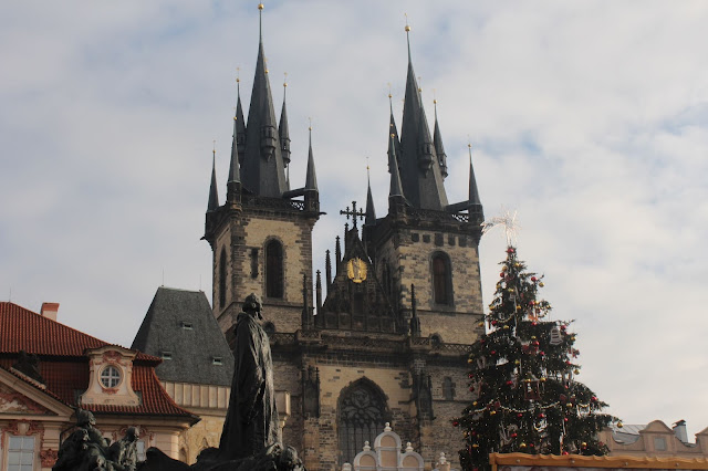 Old Town Square Prague Church