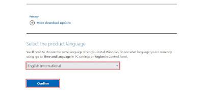 Pemilihan bahasa Windows 11 yang akan digunakan