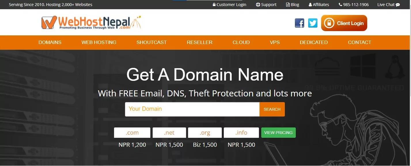 Web Host Nepal